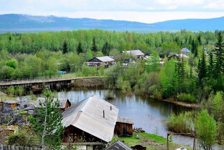 Река Чуйка в Нелькане-фото А.Соловьевой