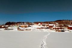 Нелькан зимой