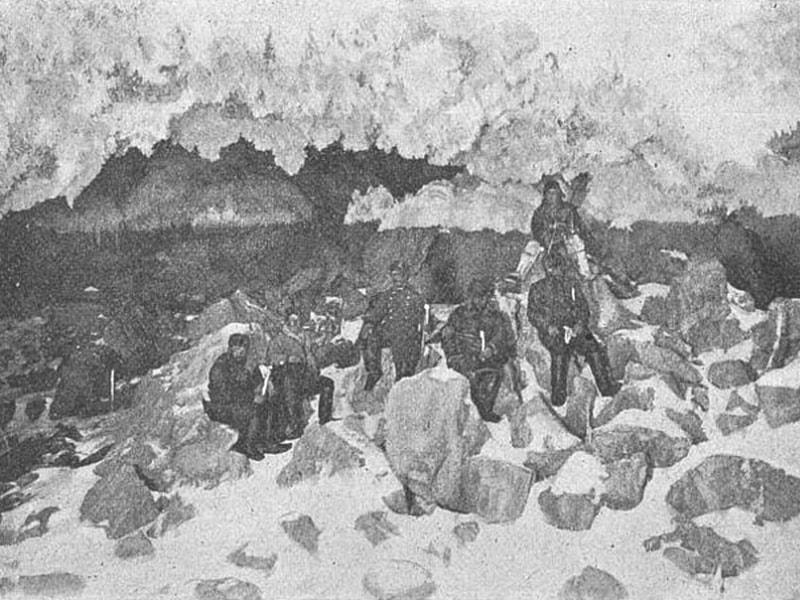Пещера Абагы-Дже первый зал 1903 год