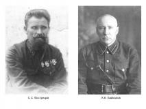 Вострецов С.С. и Байкалов К.К.