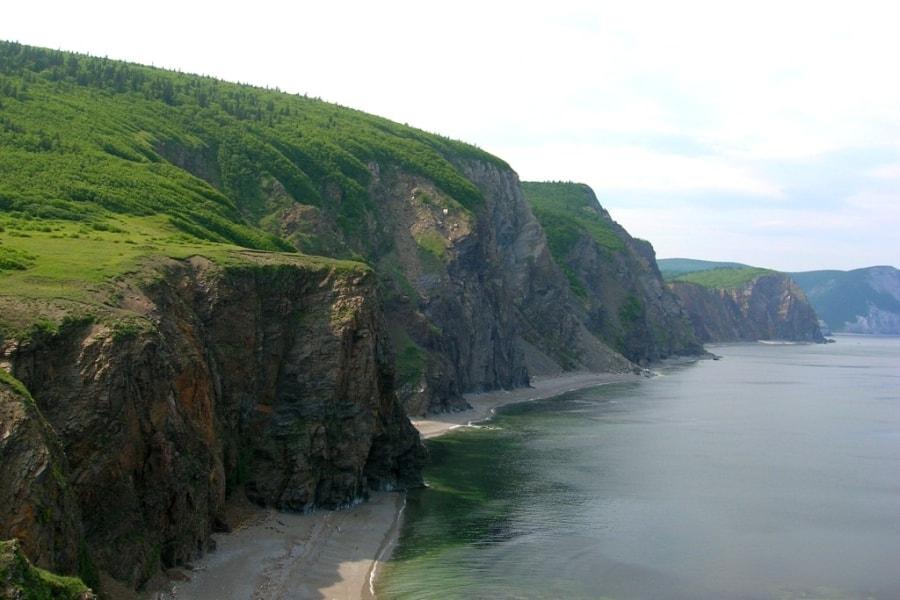 Аянское побережье Охотского моря