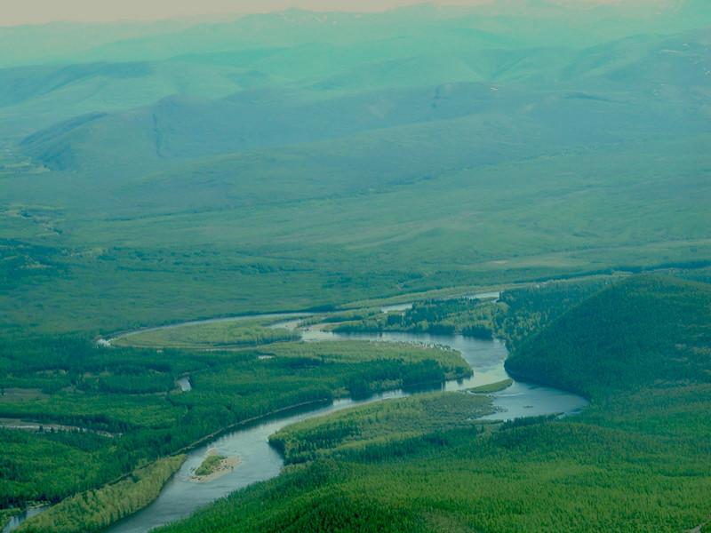 Верховья реки Мая