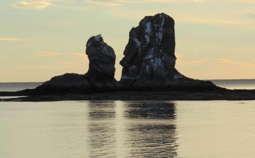 Кекур-скала естественного происхождения