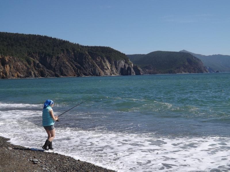 Рыбалка на Охотском море