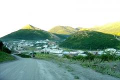 Въезд в поселок Аян