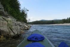 Сплав по реке Алдома