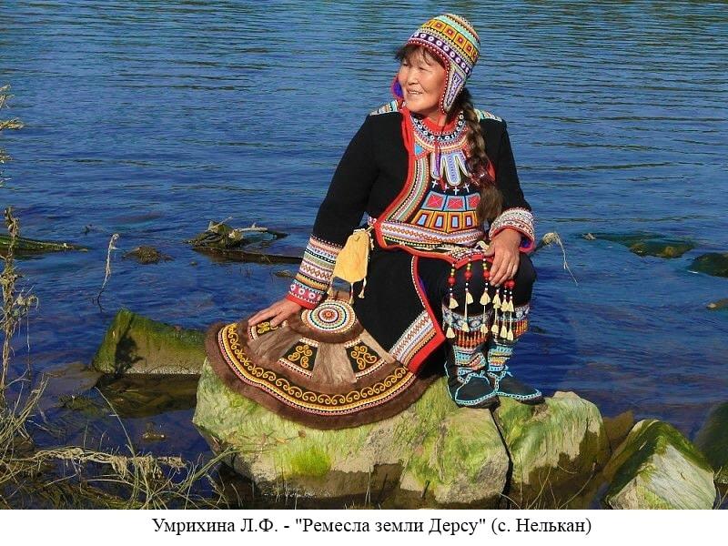 Умрихина Л.Ф. - нельканская мастерица