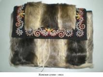 Женская сумка - овса