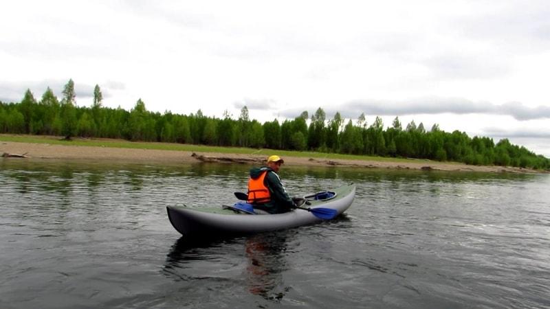 Сплав по реке Алдома (фото А.Карамзина)