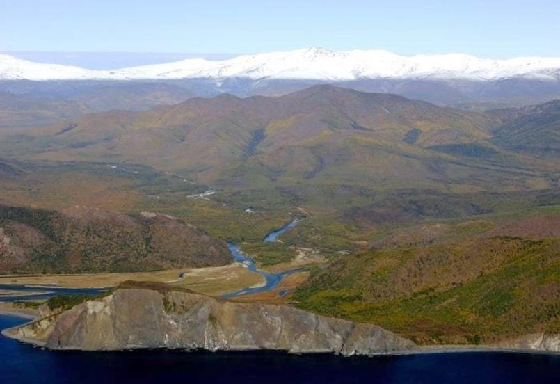 Устье реки Лантарь
