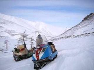 Путешествие на снегоходе