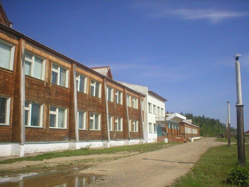 Школа в с. Нелькан